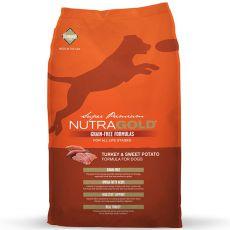 NUTRA GOLD Turkey&Sweet Potato GRAIN FREE - 13,6 kg