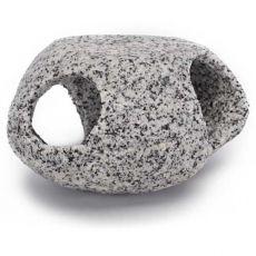 Dekoracija - kamnito zatočišče, granit, 5 cm