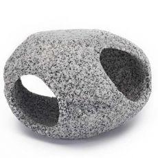 Dekoracija - kamnito zatočišče, granit, 10,2 cm