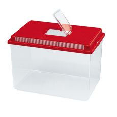 Transportna škatla Ferplast GEO EXTRA LARGE - rdeča, 11 l
