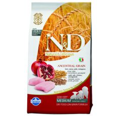 Farmina N&D dog LG PUPPY MEDIUM Chicken & Pomegranate 2,5kg