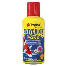 ANTYCHLOR POND 250ml / 5000L - odstranjevalec klora v ribniku