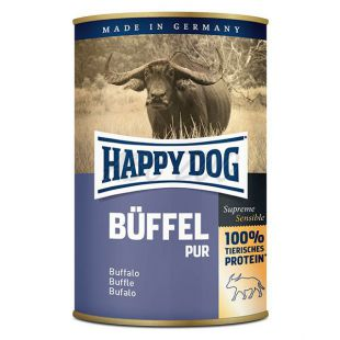 Happy Dog Pur - bivol, 400 g