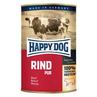 Happy Dog Pur - govedina, 400 g