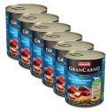 Konzerva GranCarno Fleisch Adult prekajena jegulja + krompir - 6 x 800 g