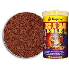 Hrana za diskuse TROPICAL Discus Gran D-50 Plus 100 ml/38 g