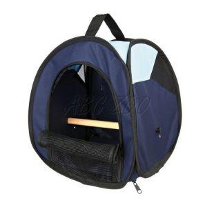 Prenosna torba za ptice s plezalno palico - 27 x 32 x 27 cm