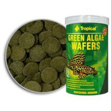 Rezine zelenih alg TROPICAL Green Algae Wafers 250 ml/113 g