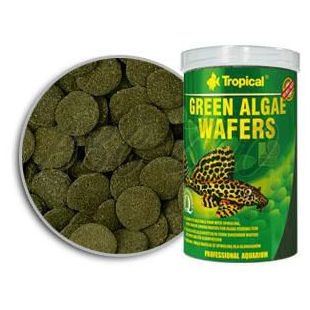 Rezine zelenih alg TROPICAL Green Algae Wafers 75 ml/33 g