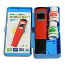 pH/°C merilnik s kalibracijsko raztopino