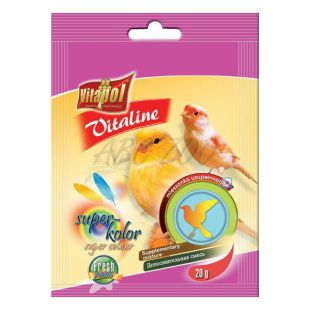 VITAPOL - mešanica Vitaline Super Kolor za ptice, 20 g