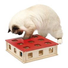 Igrača za mačke MAGIC BOX, 27 x 27 x 8,5 cm