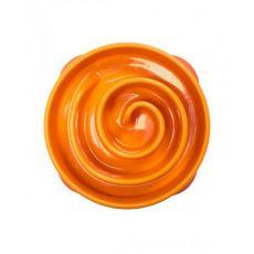 Posoda Slo-Bowl Mini Coral - oranžna