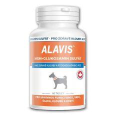 ALAVIS MSM glukozamin sulfat - za zdrave sklepe in telo, 60 tablet