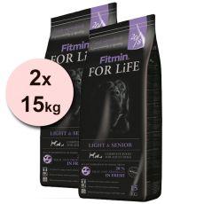 Fitmin FOR LIFE Light & Senior 2x15 kg