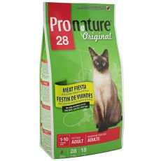 Pronature 28 Cat Adult Meat Fiesta 5,44 kg