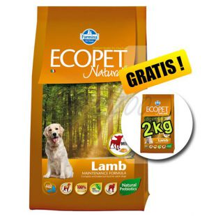 Farmina MO P ECOPET N dog LAMB MINI 12 + 2 kg GRATIS