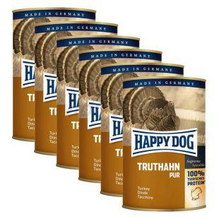 Happy Dog Pur - puran, 6 x 400 g, 5 + 1 GRATIS