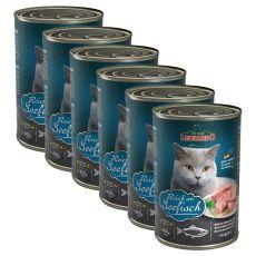 Mokra hrana za mačke Leonardo - riba 6 x 400 g