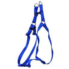 Pasja oprtnica, najlonska - modra, 53-68 cm