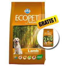 Farmina MO P ECOPET N dog LAMB MEDIUM 12 kg + 2kg GRATIS