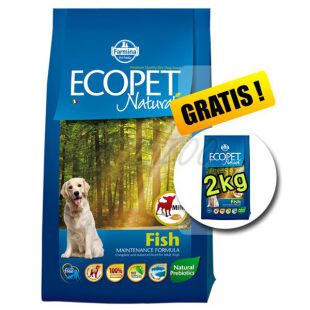 Farmina MO P ECOPET N dog FISH MINI 12 kg + 2 kg BREZPLAČNO