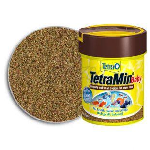 Hrana za mlade ribe TetraMin Baby 66 ml
