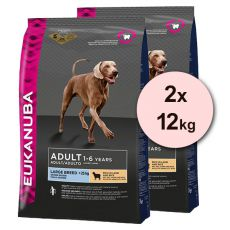 EUKANUBA ADULT Large Breed Lamb & Rice - 2 x 12 kg