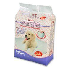 Higienske podloge za pse  - 60 x 60 cm, 10+1 GRATIS