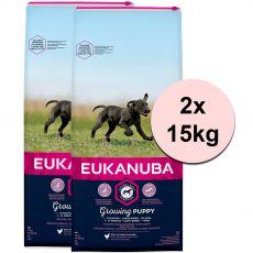 EUKANUBA PUPPY Large Breed - 2 x 15 kg