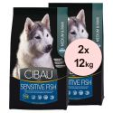 Farmina MO SP CIBAU dog SENSITIVE Fish MEDIUM & MAXI 2 x 12 kg