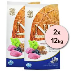 Farmina N&D dog LG ADULT MAXI Lamb & Blueberry 2 x 12 kg