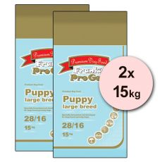 Frank's Pro Gold Puppy Large Breed 28/16 - 2 x 15kg