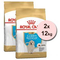 ROYAL CANIN GOLDEN RETRIEVER JUNIOR – 2 x 12 kg