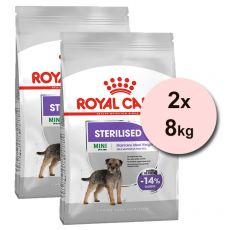 ROYAL CANIN MINI STERILISED ADULT 2 x 8 kg