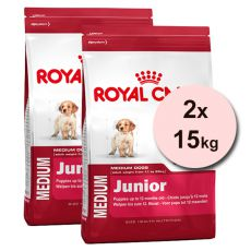 ROYAL CANIN MEDIUM JUNIOR – 2 x 15 kg