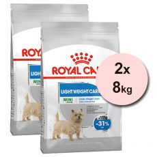 ROYAL CANIN MINI Light Weight Care – 2 x 8 kg