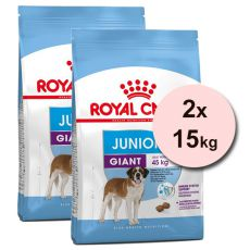 ROYAL CANIN GIANT JUNIOR – 2 x 15 kg