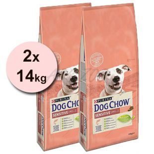 PURINA DOG CHOW SENSITIVE Salmon & Rice – 2 x 14 kg