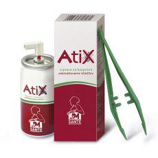 ATIX set za odstranjevanje klopov - 9 ml sprej + pinceta