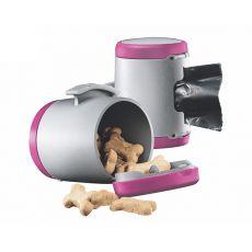 Flexi Vario Multi Box - roza posoda + vrečke za iztrebke