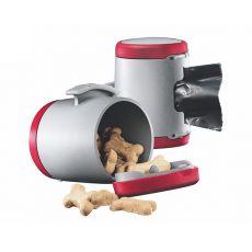 Flexi Vario Multi Box - rdeča posoda + vrečke za iztrebke
