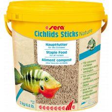 Hrana za ostrižnike sera Cichlids Sticks Nature 10 l/2 kg