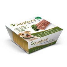 Pašteta Applaws z jagnjetino in zelenjavo za pse, 150 g