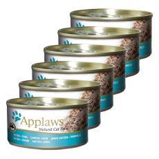 Applaws Kitten - konzerva s tunino za mačje mladiče, 6 x 70 g