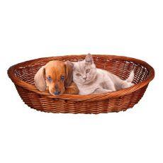 Pletena košara za pse in mačke - 50 cm