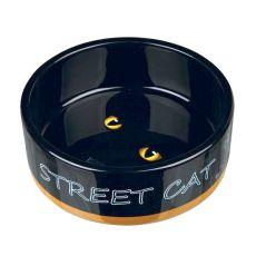 Keramična posoda za mačke Street Cat - 0,3 l