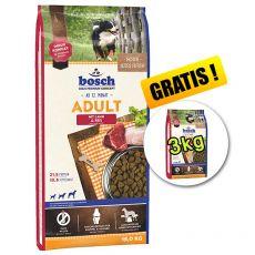 Bosch ADULT Lamb & Rice 15 kg + 3 kg BREZPLAČNO