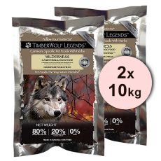 TimberWolf Wilderness LEGENDS 2 x 10 kg