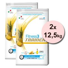 Trainer Fitnes3 Adult MEDIUM & MAXI - riba in koruza, 2 x 12,5 kg